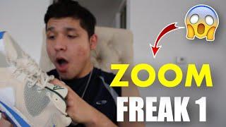 Unboxing Zoom Freak 1 Cream Ci…