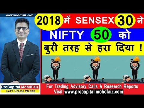2018 में SENSEX 30 ने NIFTY 50 को बुरी तरह से हरा दिया | Latest Share Market News