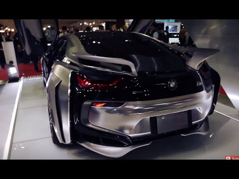 Tokyo Auto Salon Part 2 Wide Body Bmw I8 R8 Morohoshi San Etc