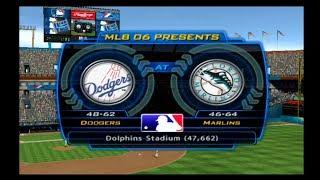 MLB 06: The Show (Florida Marlins Season) Game #111 - LAD @ FLA