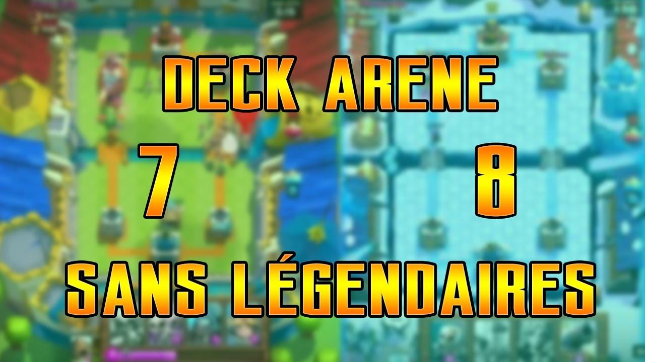 Deck arene 7 8 sans l gendaires youtube for Deck arene 7 miroir