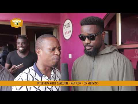 Arnold Interviews Africa's Biggest Rapper - SARKODIE On Vibes In 5