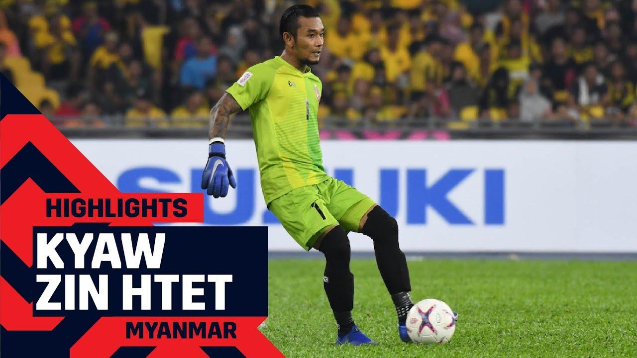 Kyaw Zin Htet Save Compilation ✨ 🧤 | #AFFSuzukiCup 2018
