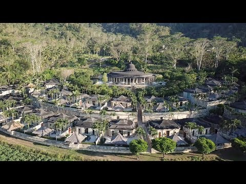 Amanjiwo: most STUNNING resort of Java, Indonesia (full tour