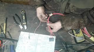 Ремонт основного кабеля с автомобиля DAF 105 XF (часть 9)