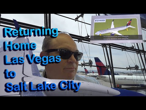 Trip Report | Las Vegas To Salt Lake | Delta Airlines | Boeing 737