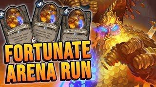 FORTUNATE Arena Run | Rise of Shadows | Hearthstone