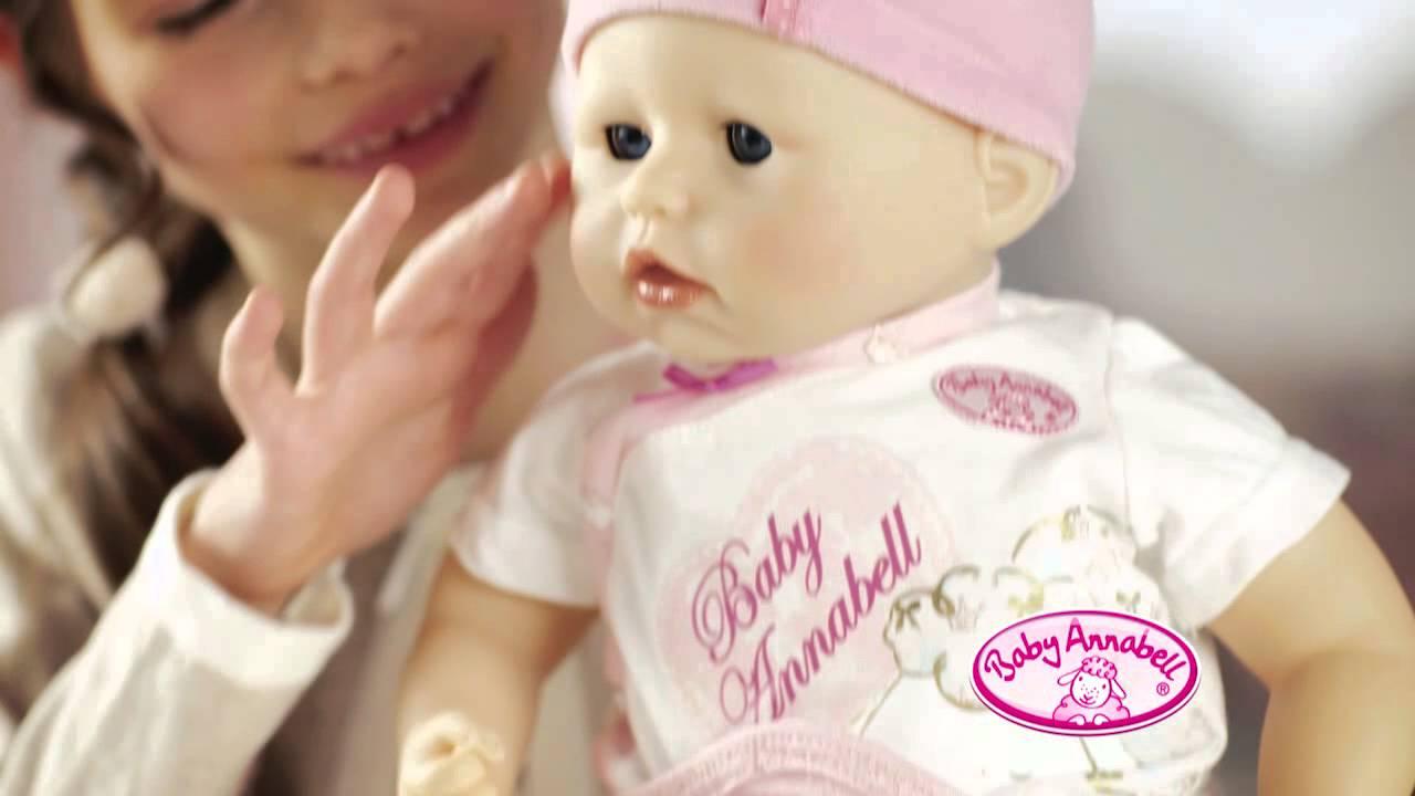 Baby Annabell Nočník s ovečkou - YouTube