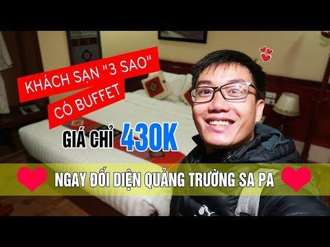 Khách sạn Sapa Centre có buffet sáng, giá chỉ 430k | Khách sạn Sa Pa #1