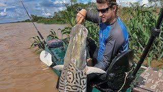O RIO DOS GIGANTES! Pescaria com isca viva.
