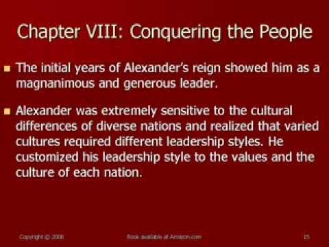 Leadership and Strategy: Lessons from Alexander the Great
