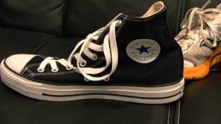 Chuck Taylors vs Running Shoes