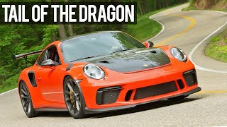 GT3RS TAKES ON THE DRAGON - RAW POV RAGE