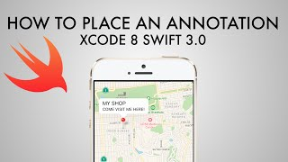 How To Place An Annotation On A Map In xCode 8 (Swift 3.0)