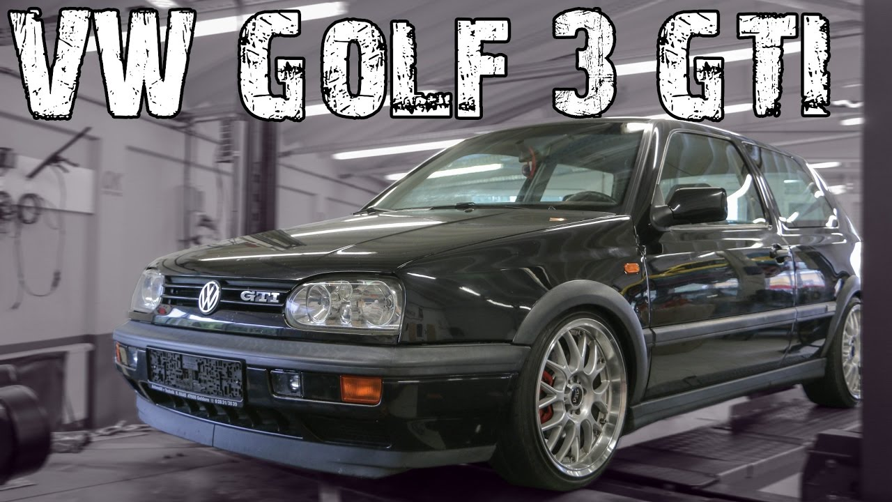 ok chiptuning vw golf 3 gti der leistungscheck youtube. Black Bedroom Furniture Sets. Home Design Ideas