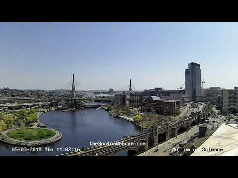 Boston 10 Stunden Webcam