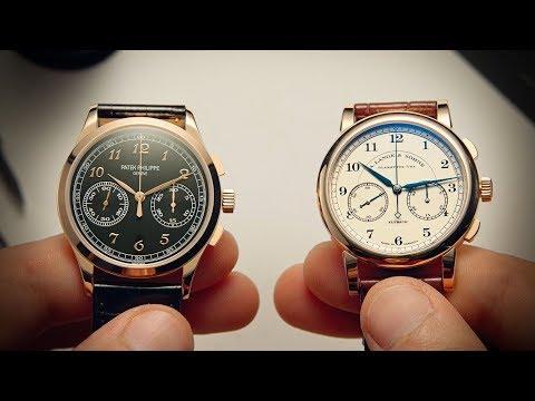 Patek Philippe 5170 vs A. Lange & Söhne 1815 Chrono | Watchfinder & Co.