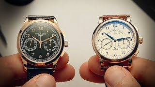 Patek Philippe 5170 vs A. Lange & Söhne 1815 Chrono | Watchfinder & Co.