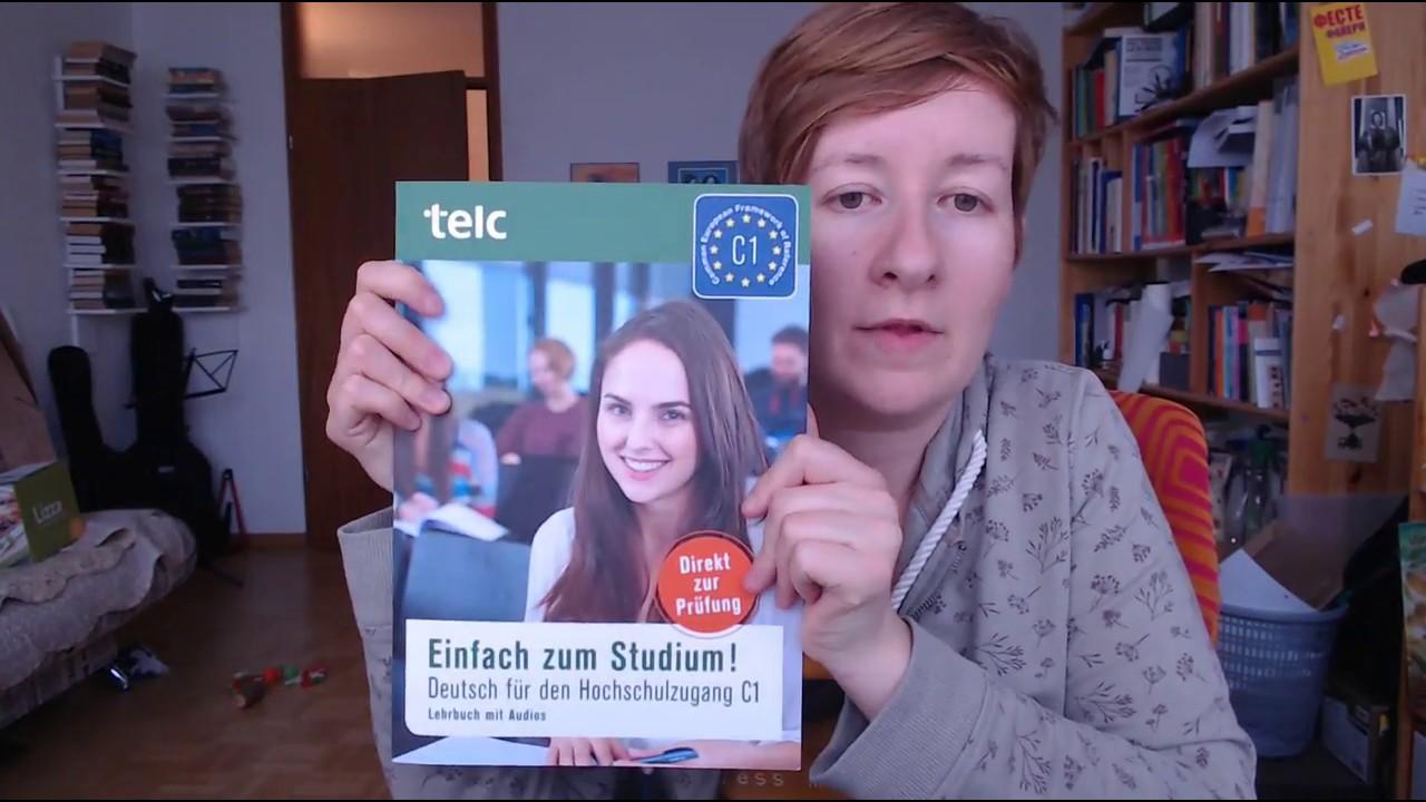 Telc C1 Hochschule Das Buch Gut Oder Schlecht Youtube
