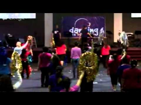 Arise to Worship - Hoops and Dance Workshop - Dancing For The Lord - Orlando 02-23-2013