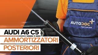 Come sostituire Ammortizzatori AUDI A6 Avant (4B5, C5) - video gratuito online