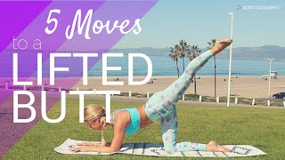 5 Moves to a Lifted Beautiful Booty - 8 minutes each leg