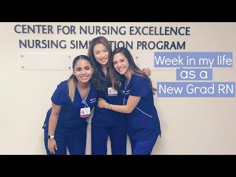 Week In My Life As A New Grad RN | Miki Rai