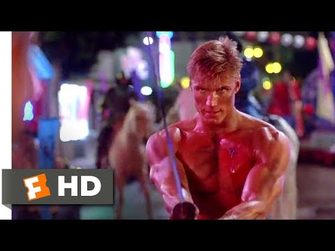 Showdown in Little Tokyo (1991) - Kick His Ass, Samurai Scene (8/8)   Movieclips Mp3