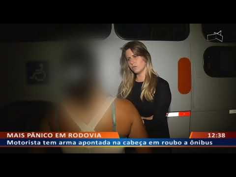 DFA -  Ladrão morre atropelado na BR em fuga após roubar ônibus
