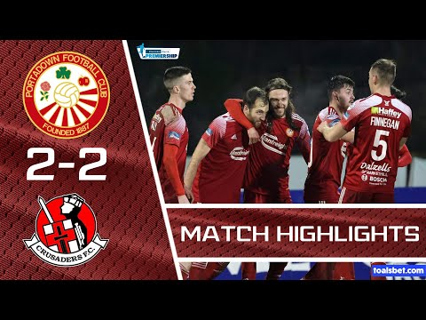 Portadown Crusaders Goals And Highlights