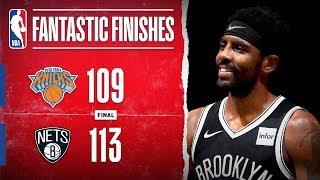 DRAMATIC Finish In Brooklyn between the Knicks & Nets | Oct. 25, 2019