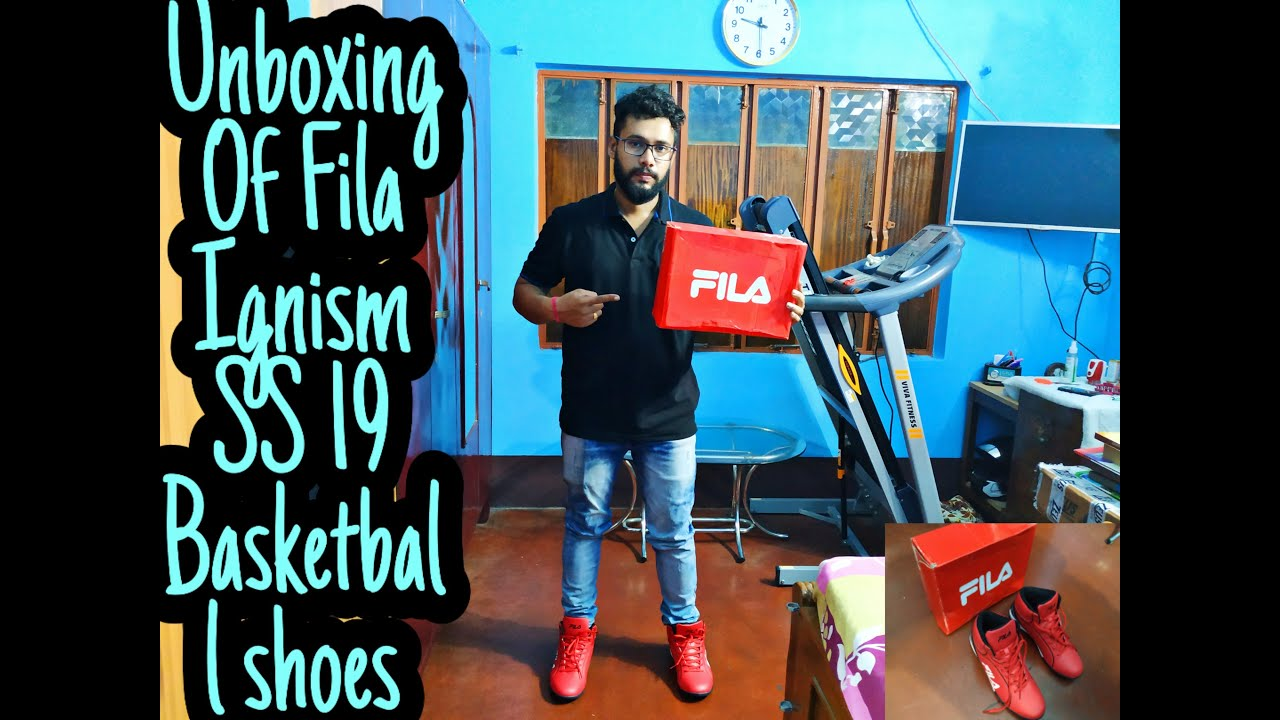Unboxing Of Fila Ignism SS 19 Basketball Shoes</p>                     </div>                     <!--bof Product URL -->                                         <!--eof Product URL -->                     <!--bof Quantity Discounts table -->                                         <!--eof Quantity Discounts table -->                 </div>                             </div>         </div>     </div>              </form>  <div style=