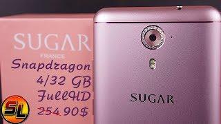 Sugar F7 Mini полный обзор ювелирного смартфона со стразами от Swarovski! review