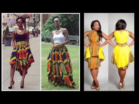 Short African Trendy Dresses African Modern Fashion Wear