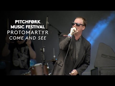 """Protomartyr perform """"Come and See"""" - Pitchfork Music Festival 2015"""