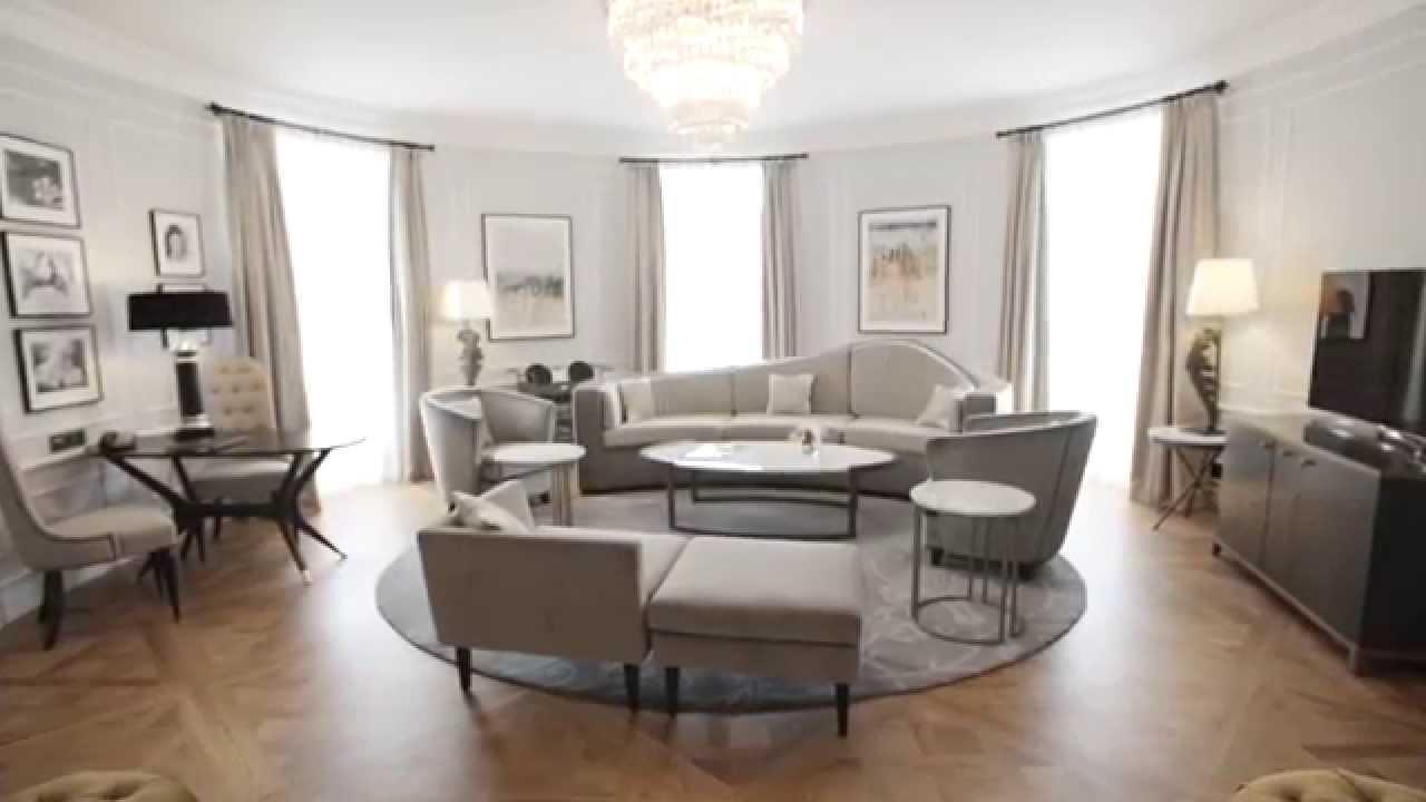 Royal Suite  Hotel Maria Cristina, San Sebastián - YouTube