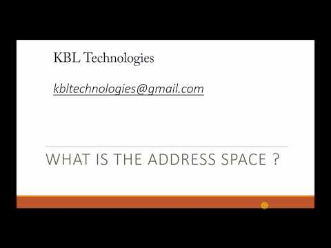 What is the address space | 32 bit architecture