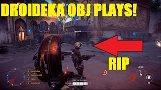 Star Wars Battlefront 2 - Droidekas Take Theed! Droideka Killstreaks! (Capital Supremacy)
