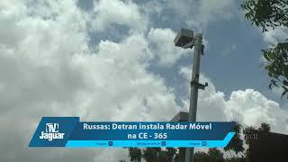 Russas: Detran instala Fotosensores na CE 356. 13/03/2018