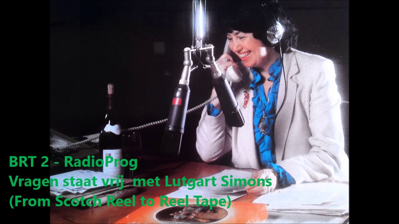 Radio icoon Lutgart Simoens (92) overleden