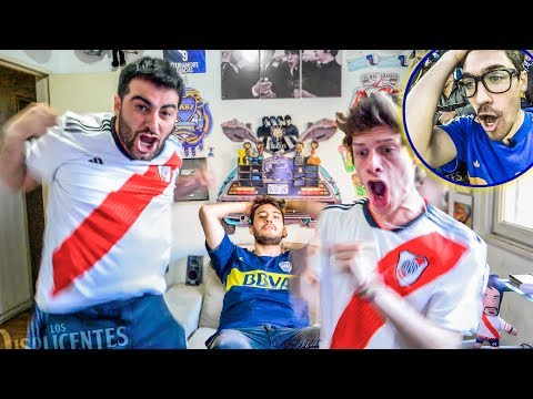Boca 0 River 2 | Superclásico 2018 | Reacciones de Amigos