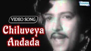 Chiluveya Andada - Devara Gudi - Vishnuvardhan - Bharathi - Kannada Hit Song