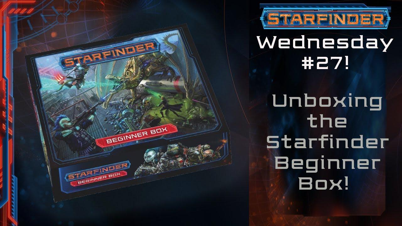 Unboxing The Starfinder Beginner Box