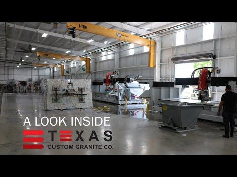 Texas Custom Granite Co   A Look Inside The Stone Shop