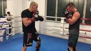 City Thong Thaiboxing - Anfänger Partnerübungen mit Headcoach Marcus Bauer