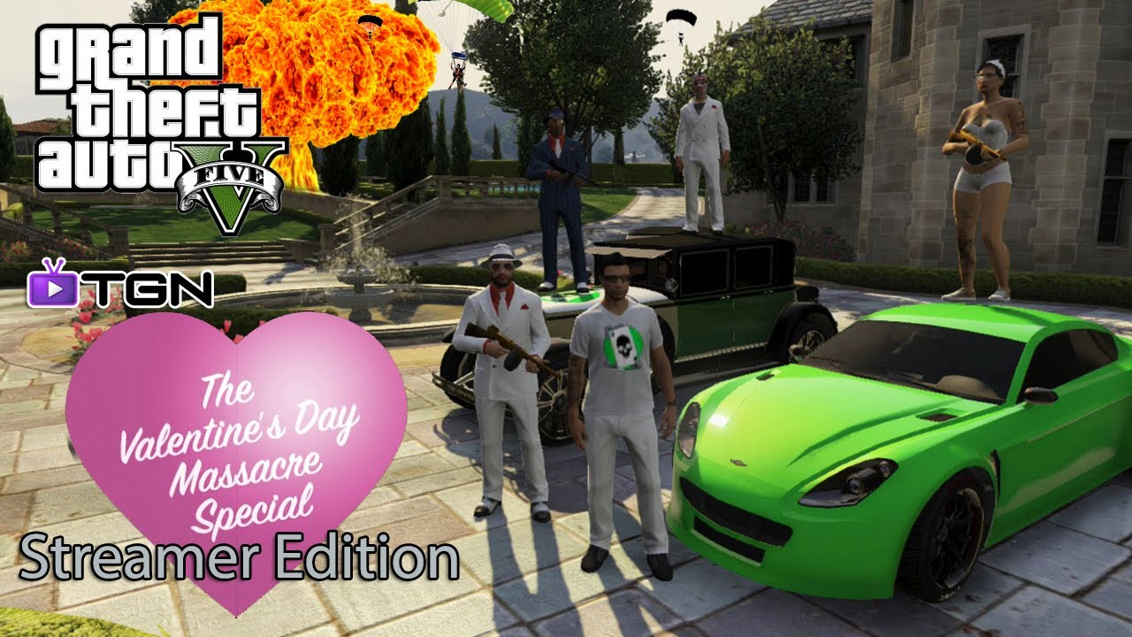 GTA 5 Online GTA V Online The Valentines Day DLC Special