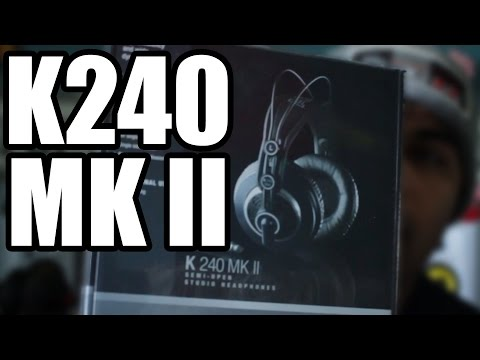 AKG 240 MK II Semi-Open Headphones Unbox And Reaction
