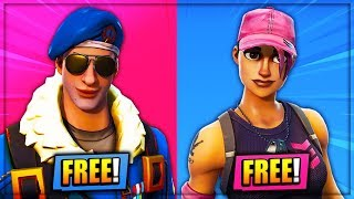 5 *FREE* Unlockable SKINS Coming To Fortnite! - NEW Unreleased FREE Skins! (Fortnite Battle Royale)