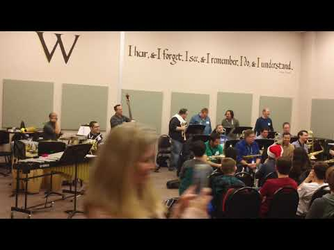 Jazz Inc Big Band (Austin, TX) at Walsh Middle School (Round Rock, TX - 12/21/17)
