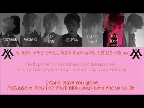 "MONSTA X 몬스타엑스 "" White Sugar 백설탕 "" Lyrics (ColorCoded+Han+Rom+Eng)"